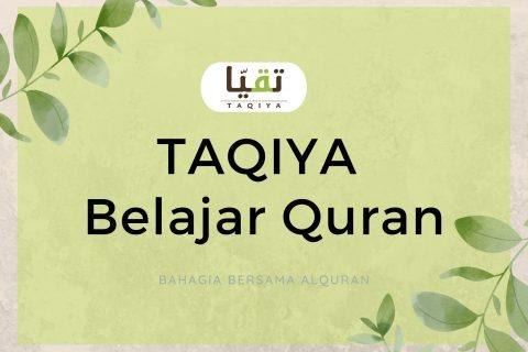 TAQIYA Belajar Quran